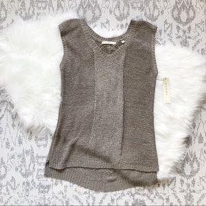 Cyrus: sleeveless sweater tank